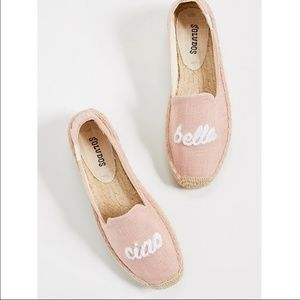 Soludos Ciao Bella Smoking Slipper Dusty Rose Pink